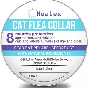 Healex Cat Flea Collar for Flea and Tick Treatment